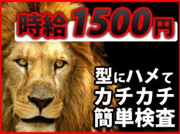 【3ヶ月間の短期】月収35万円以上可能!⇒ボタンを押すだけの簡単検査【男女OK】 イメージ