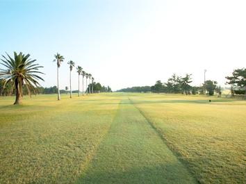 ゴルフコースのメンテナンス業務 イメージ